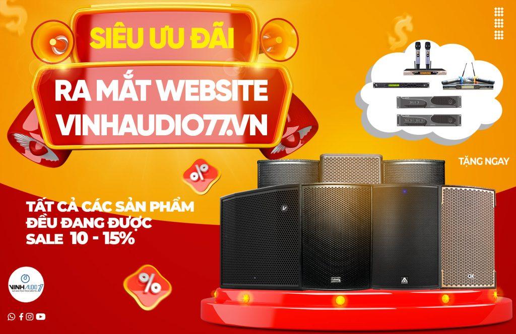 Ra mắt Website: http://VinhAudio77.vn